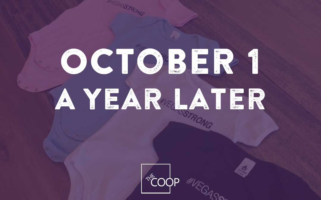 October 1 – A Year Later