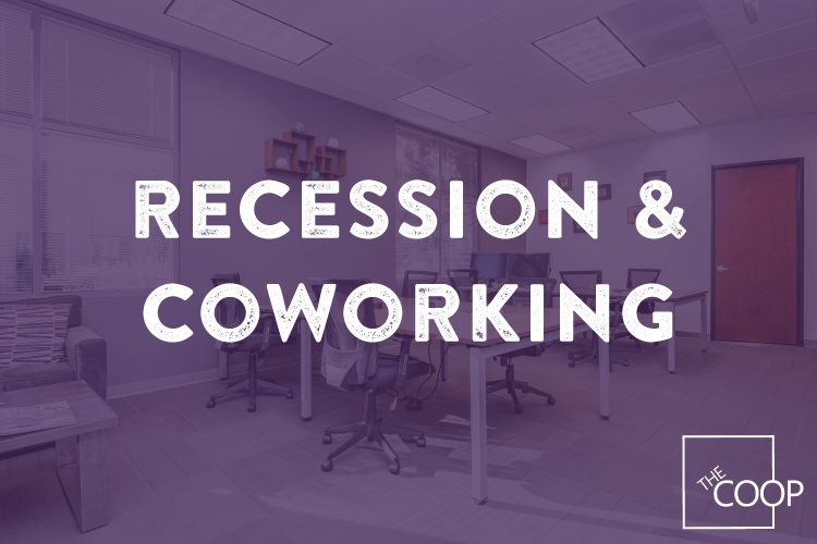 recession and coworking